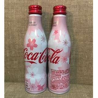 [全新] 可口可樂 Coca Cola 中國版2018櫻花紀念鋁樽可樂