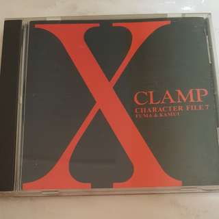 X CLAMP CHARACTER FILE 7 soundtrack