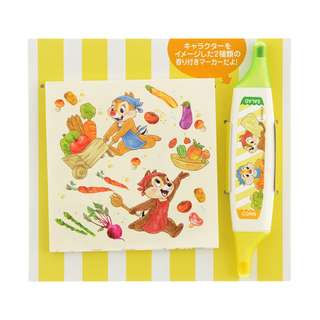 Japan Disneystore Disney Store Chip & Dale Cafe Time Color Pen & Memo Preorder