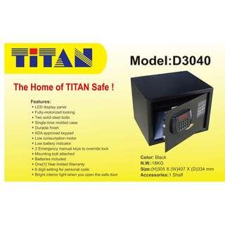 ~TITAN D3040 Large Elect Safe on Offer @ Selffix DIY Outlets~