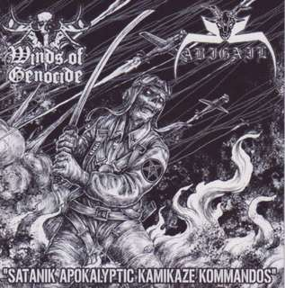 Extreme metal cd Winds of Genocide / Abigail Split