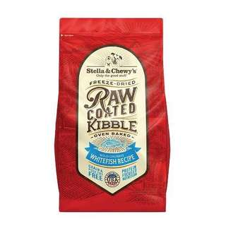 Stella & Chewy's Raw Coated Kibble Whitefish Recipe, 3.5 lb