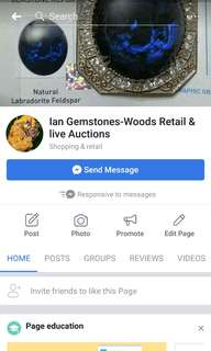 Ian Gemstones And Woods Live Auction