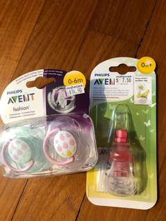 Avent Pacifier and strap