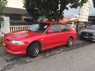 Proton Wira Special Edition for sales!