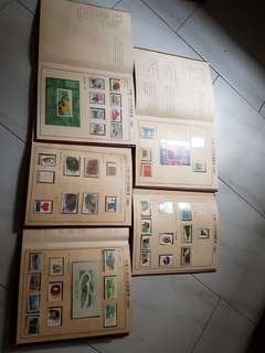 China 1991 collect stamp