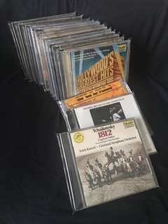 16pcs of Musical and Classic CDs Album offer