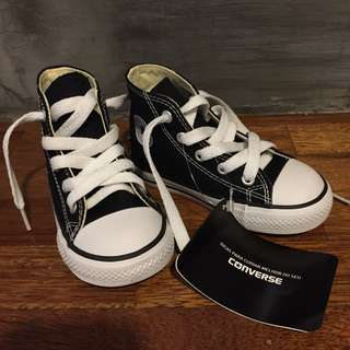 Converse Toddler High Cut Canvas Shoes