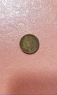 💲自由出價~價高者得~1949年 英男皇 錢幣 古董