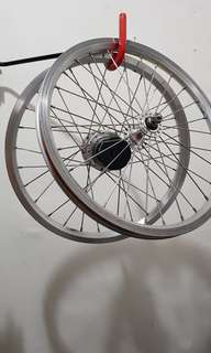 Brompton stock internal 3 speed rims set