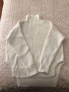 Fluffy Turtleneck Sweater