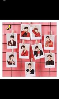 Idol producer 9 photocards set