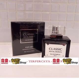 Parfum Pria Classic Royal Baron For Men Miniso Import