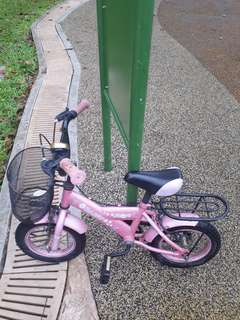 Kids Bicycle with training wheels