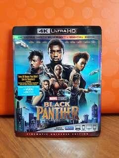 USA Blu Ray Slipcase - Black Panther 4K
