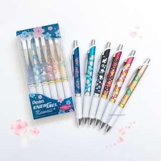 Pentel Energel Kawaii+ Pen Set Gel Roller Pen