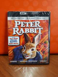 USA Blu Ray 4K UHD - Peter Rabbit (ATMOS)
