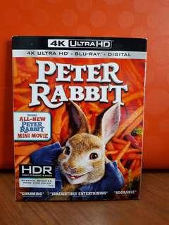 USA Blu Ray Slipcase - Peter Rabbit 4K