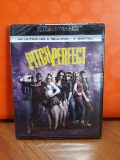 USA Blu Ray 4K UHD - Pitch Perfect (DTS-X)