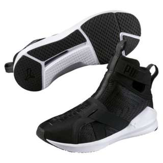 Puma Womens Fierce Strap Swirl Lifestyle Shoes