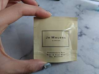 Jo Malone promegranade noir body and hand wash sample 7ml