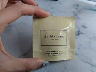 Jo Malone promegranade noir body and hand wash sample 7ml