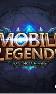 Mobile legend boost [cheap n random price]