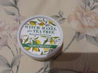 Beauty Bakery Witch Hazel Cream