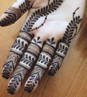Beautiful Henna designs !!
