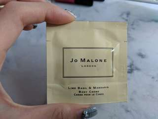 Jo Malone Lime Basil & mandarin body creme 7ml