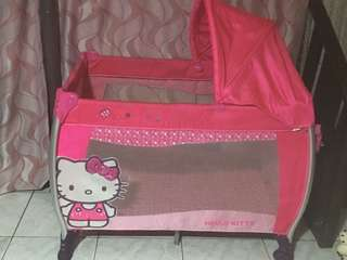 Hello Kitty Crib