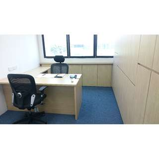 URGENT FOR RENT - 156 sqft (4m x 3.5m approx.)office space at Sin Ming Road. (light industrial bldg)