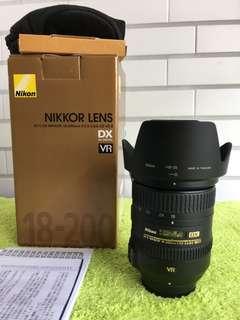 🚚 曙光數位 Nikon 18-200mm VR II