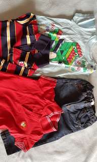 Assorted baby boys clothes 1-2 years old
