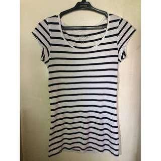 [H&M] Striped Blouse