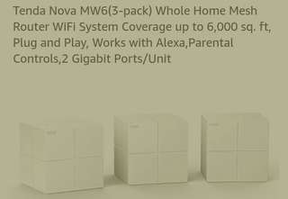 WIFI MESH for WHOLE HOUSE 3 pack