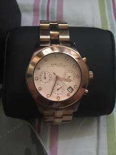 Rose Gold Steel watch