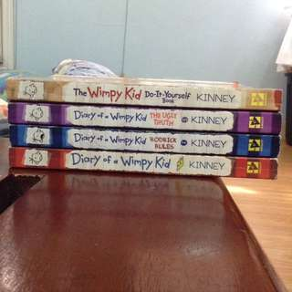 The Wimpy Kid (4pcs)