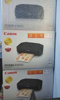 Canon iP2870S Pixma inkjet Printer