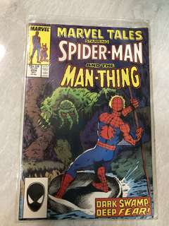 Comics : Spider-Man and the Man Thing