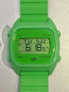Original Adidas Watch 螢光綠