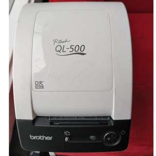 Label Printer Brother QL-500 Manual-Cut PC Label Printing System
