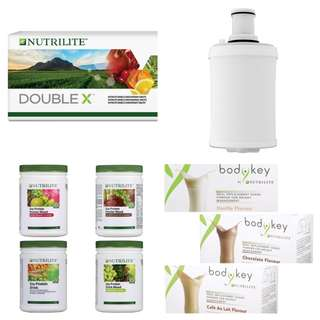 Amway espring cartridge bodykey protein double x nutrilite