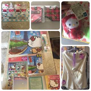 Hello Kitty items (Japan) FREE SHIPPING‼️