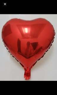 $0.80-$1.00: 18 inch heart foil balloon