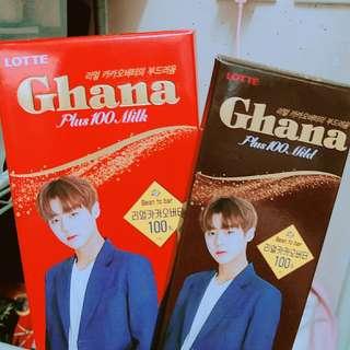 lotte ghana chocolate 朴志訓
