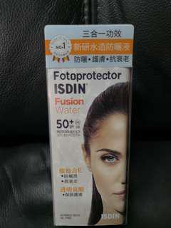 西班牙Isdin Fusion Water防曬