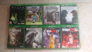 For Sale: Xbox One Games