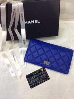 Chanel Blue Wallet