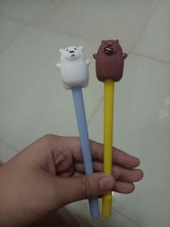 We Bare Bears Ballpens